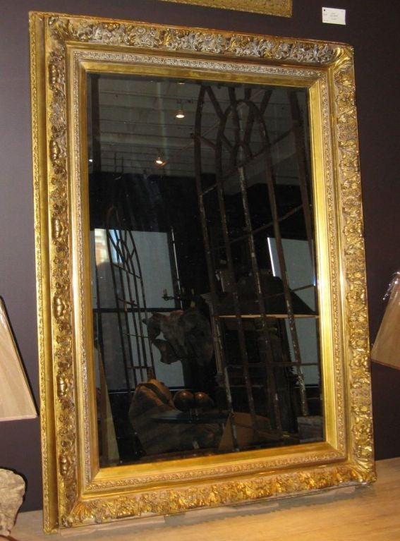 19thc large gold guild framed mirror at 1stdibs