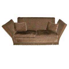 1940's French Knoll Style Sofa