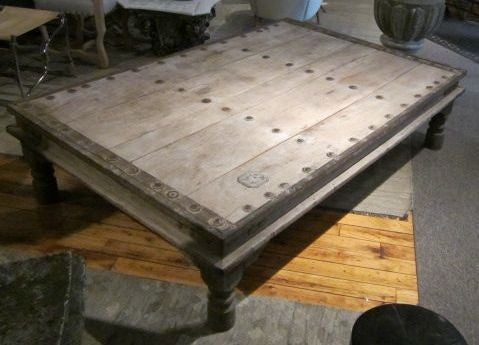Exceptional 19thc Indian Bed Coffee Table 3