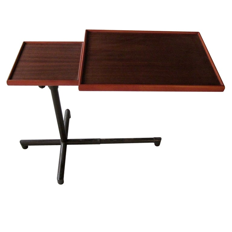 Mid Century Swiss Designer Cannelle Multifunctional Table