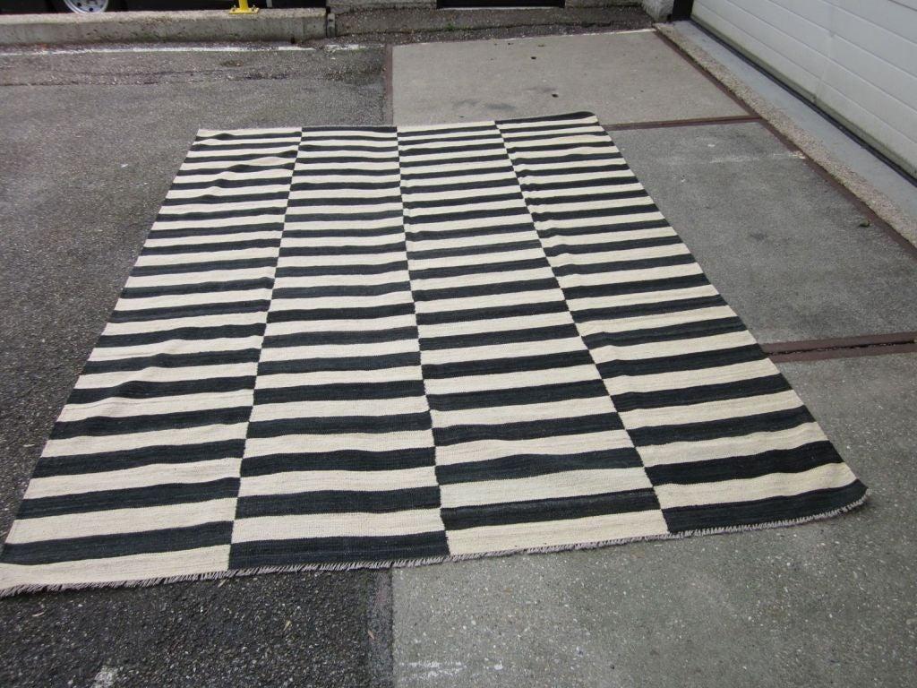 Striped Kilim Rug 2