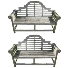 Pair of Garden Benches