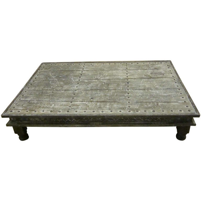 Indian Bed Coffee Table 1