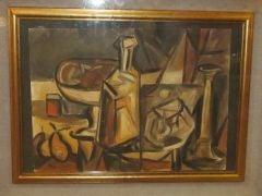 1940's German Oil Painting