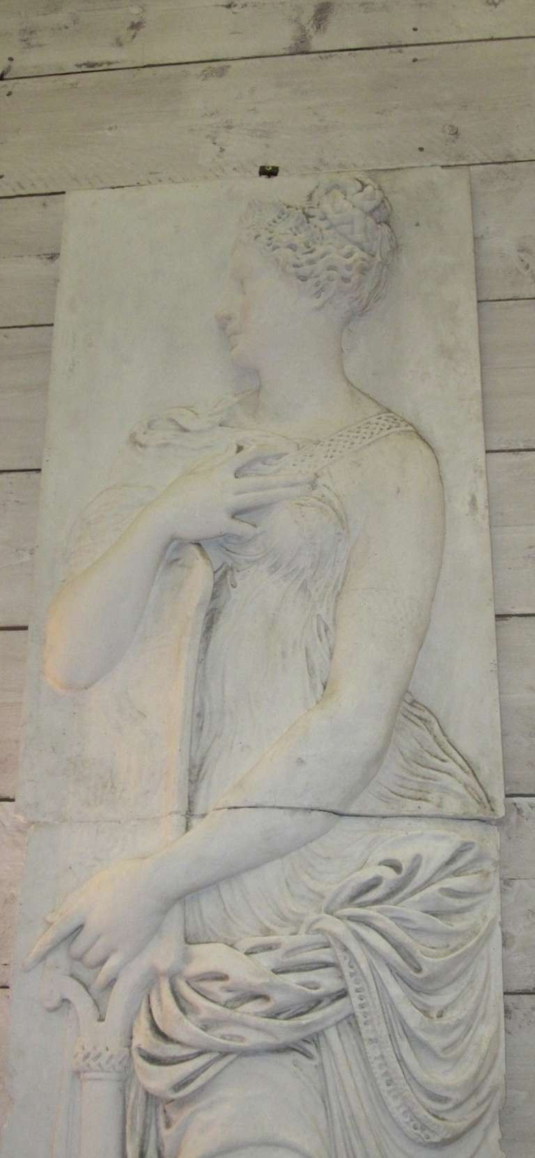 French Plaster Wall Relief At 1stdibs