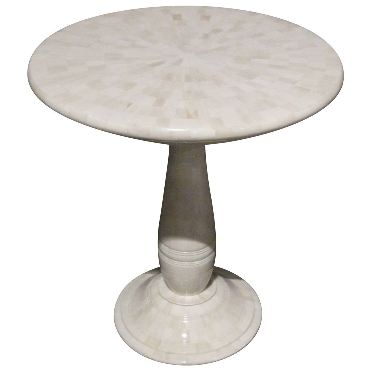 contemporary faux bone cocktail table at 1stdibs. Black Bedroom Furniture Sets. Home Design Ideas