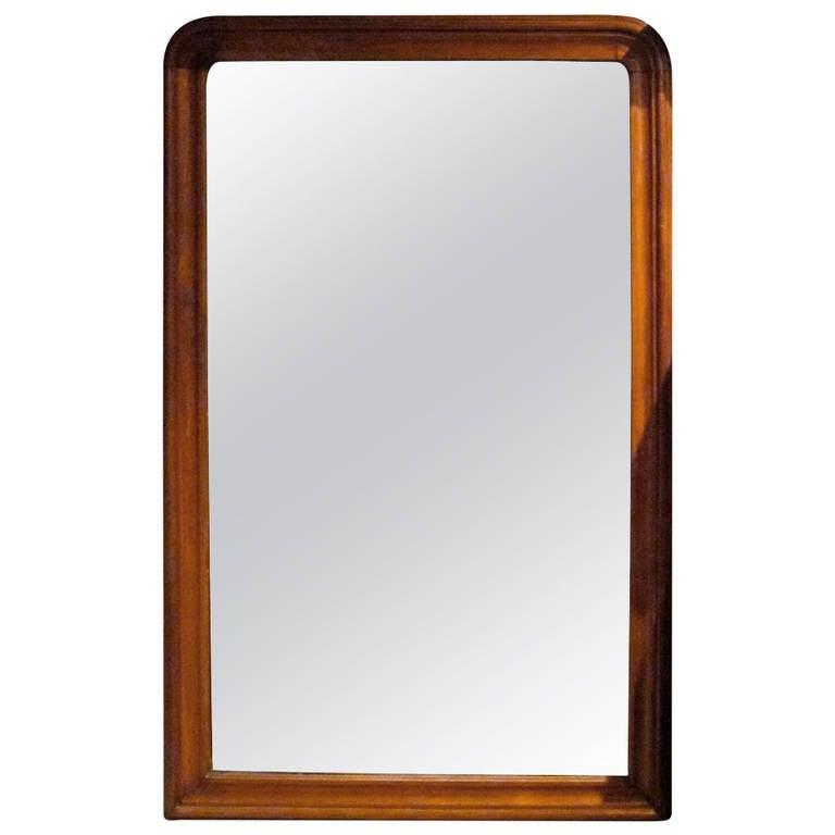 Extra large mahogany frame mirror england 19th century for Big framed mirror