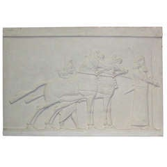 1940's French Plaster Relief