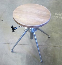 1960's French Stool/Side Table