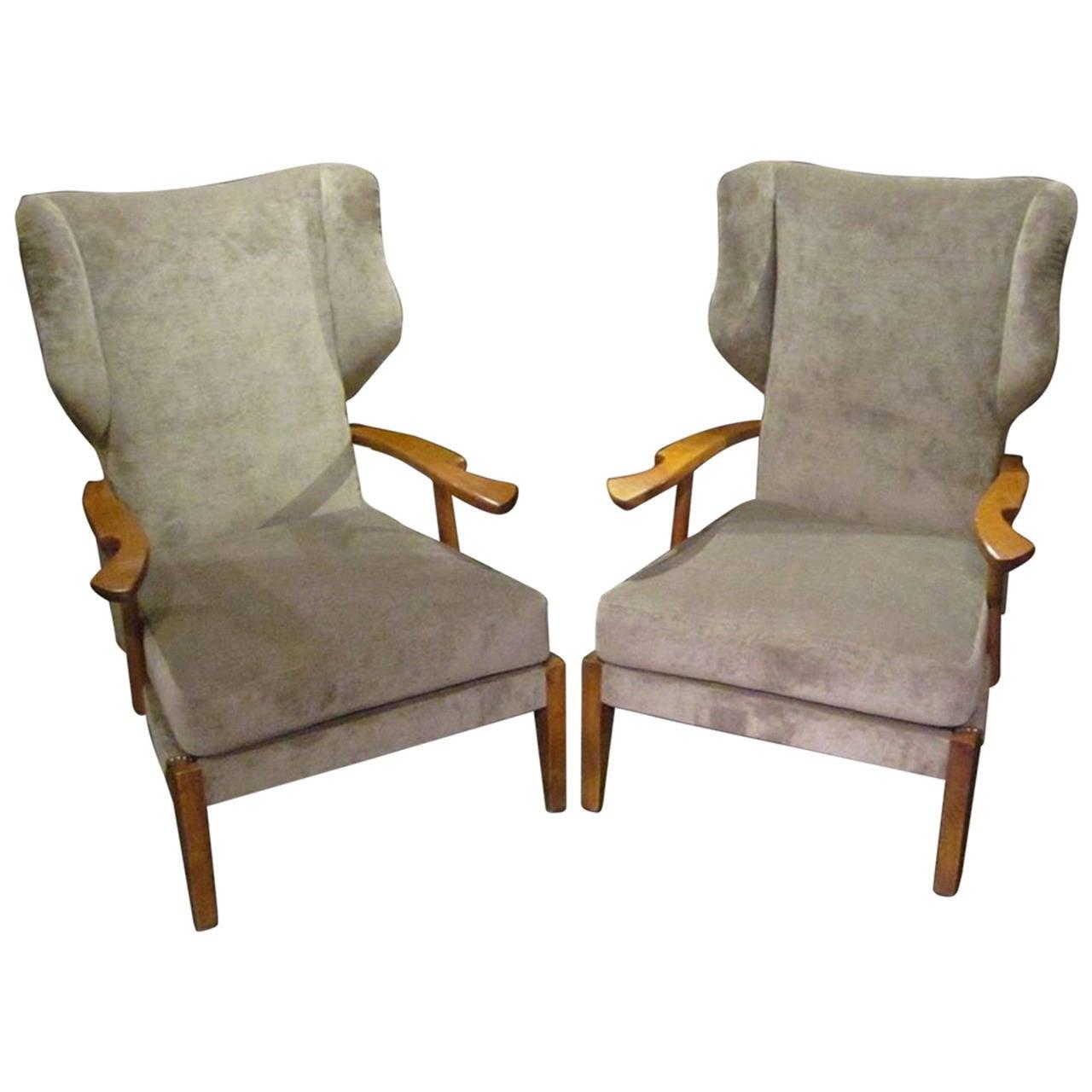 1960s Missoni Wingback Chair At 1stdibs: 1309372_l.jpeg