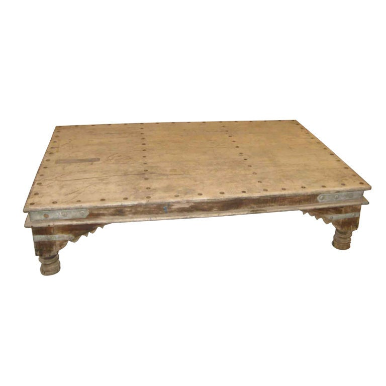 19th Century Indian Coffee Table At 1stdibs