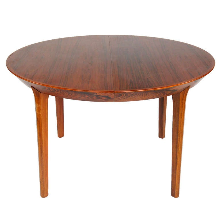 Kai Kristiansen Dining Table with Two Board Extensions For  : DSC8581l from www.1stdibs.com size 768 x 768 jpeg 27kB