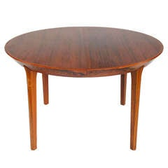 Kai Kristiansen Dining Table with Two Board Extensions