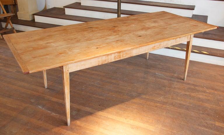 8 Foot Long Farm Table at 1stdibs
