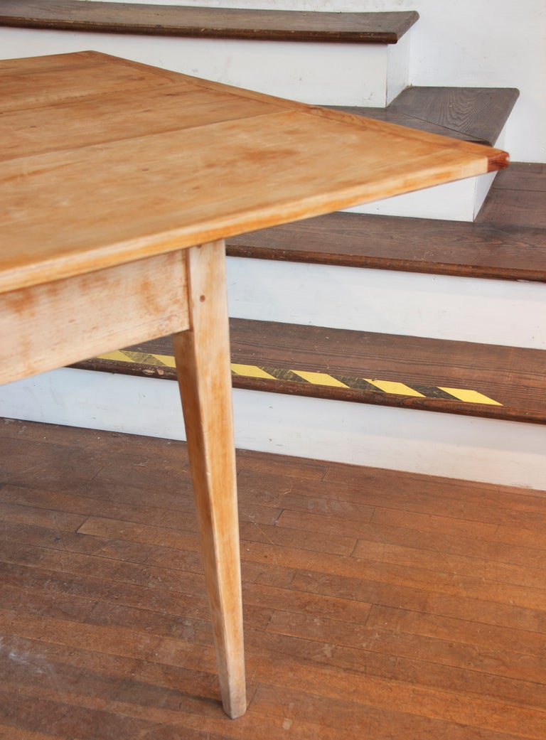 8 foot long farm table at 1stdibs for 8ft dining room table