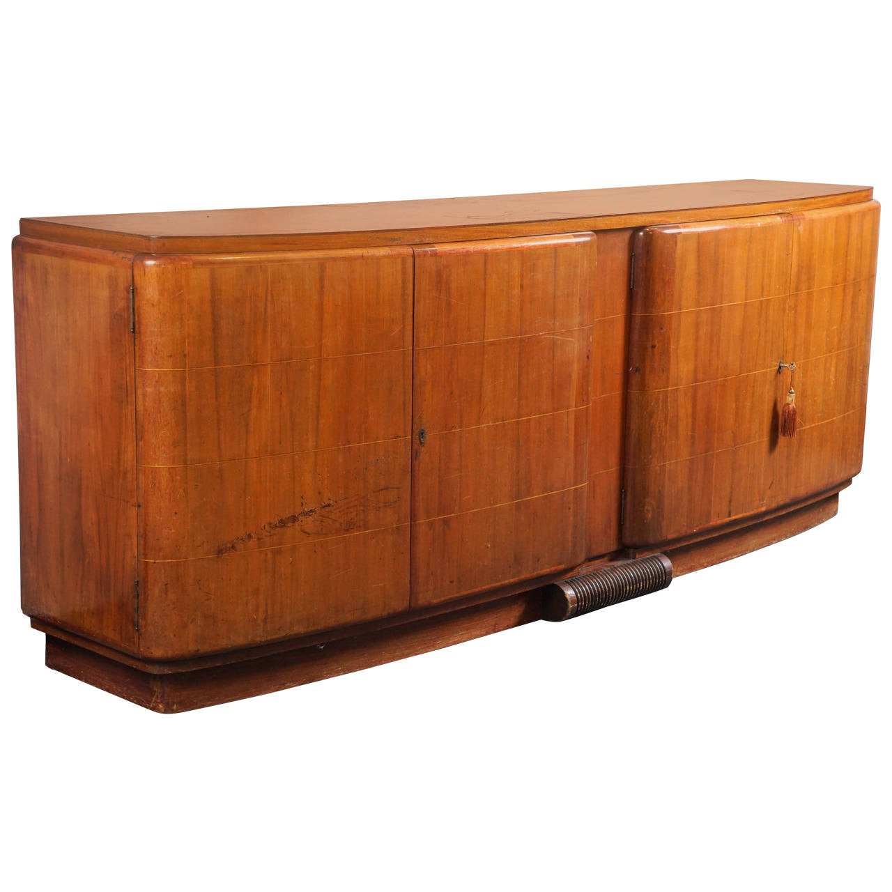 grand art deco console at 1stdibs. Black Bedroom Furniture Sets. Home Design Ideas