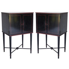 Pair 1930's End Tables