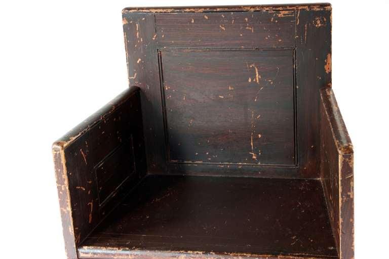 Grain Painted Scottish Chair 6