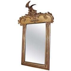 Late Federal Gilt Gesso Mirror
