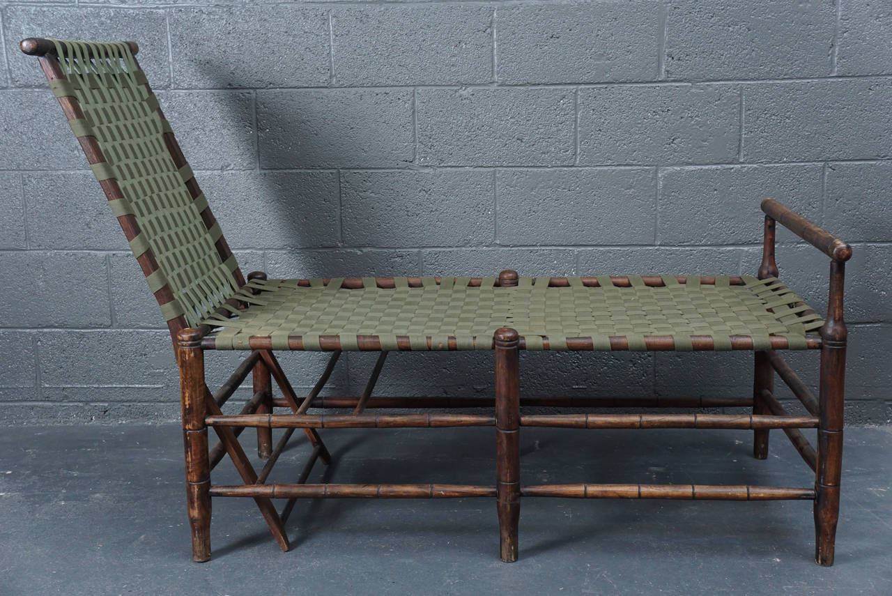 American Adirondack Adjustable Chaise For Sale