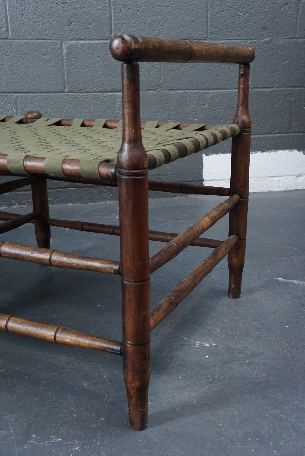 Adirondack adjustable chaise at 1stdibs for Chaise adirondak