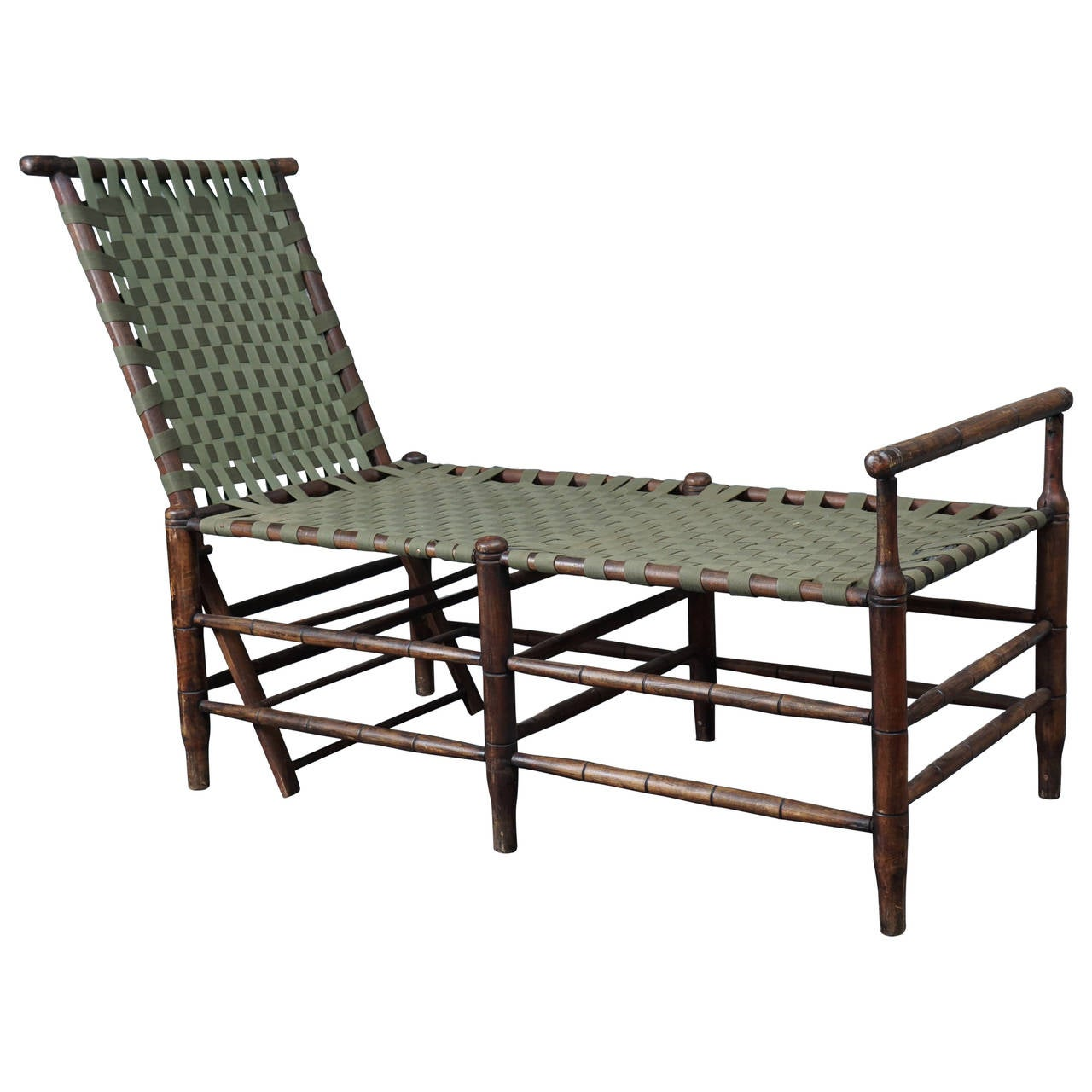 Adirondack adjustable chaise at 1stdibs for Adirondack chaise