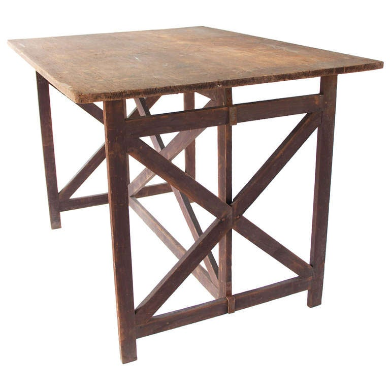 19th Century Campaign Table At 1stdibs