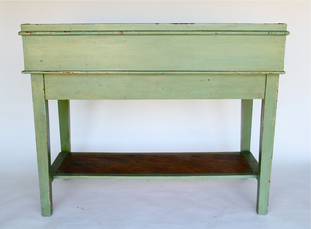 painted writing desks Home » furniture » desks antique & vintage desks  antique painted writing desk $2,89500  italian antique leather top desk, 2 drawers.