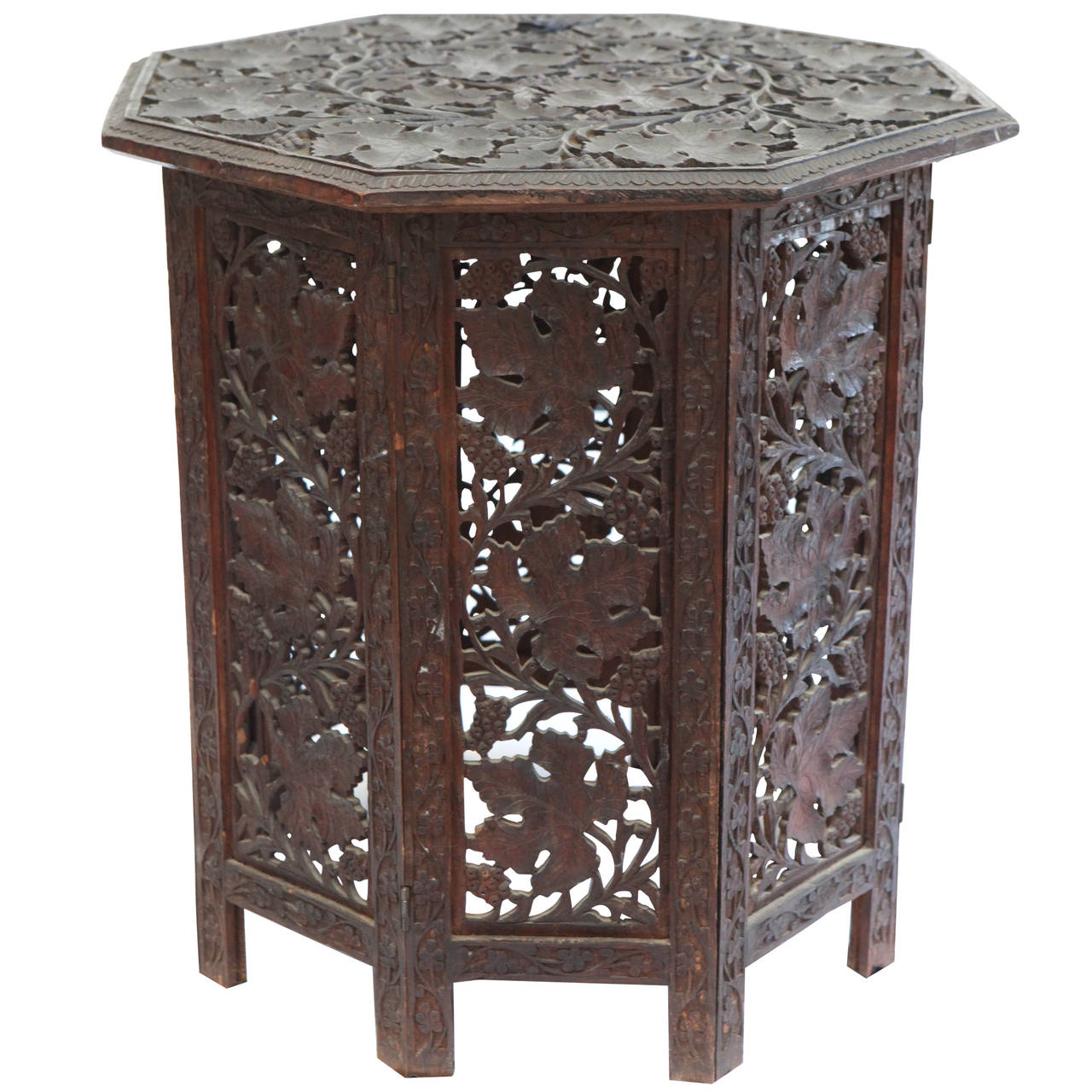 Antique Anglo Indian Tea Table At 1stdibs