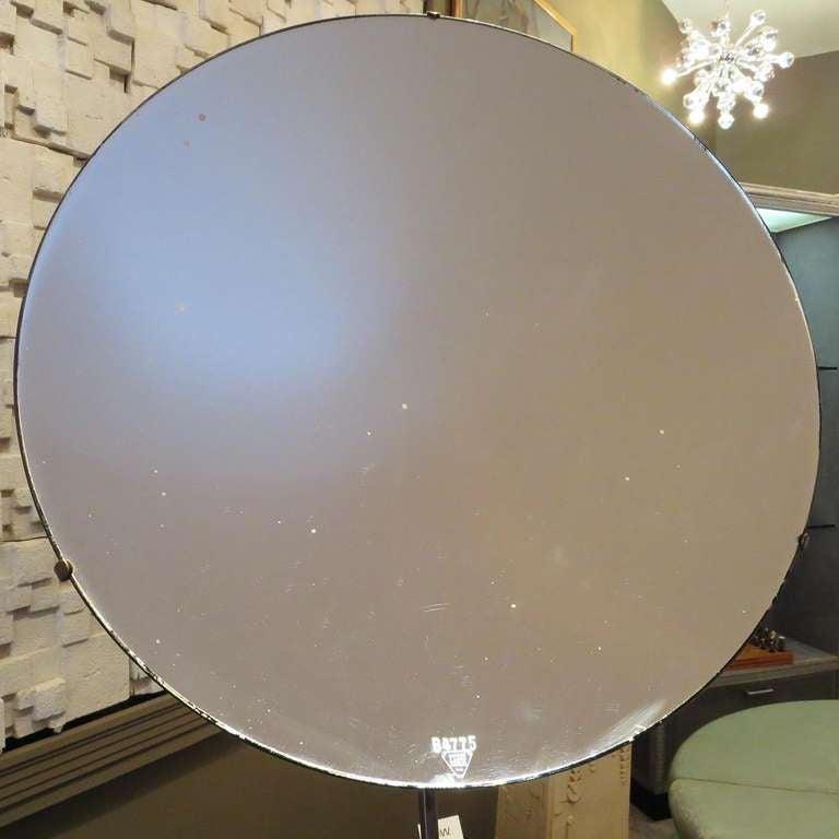 Large Parabolic Reflecting Mirror At 1stdibs