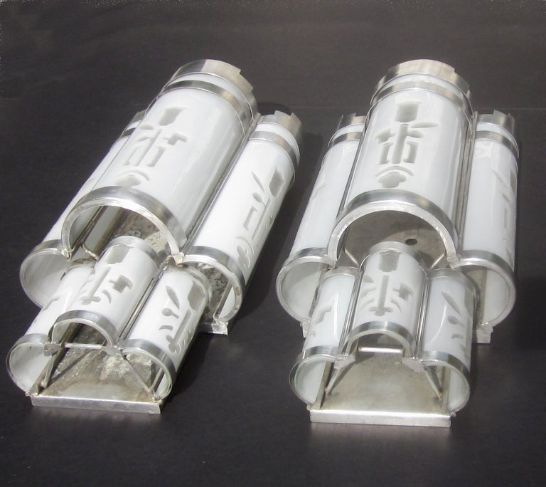 Art Deco Theater Wall Sconces at 1stdibs