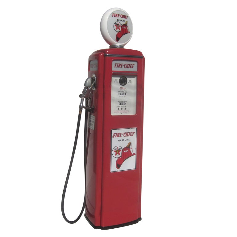 vintage texaco gas pump by tokheim at 1stdibs