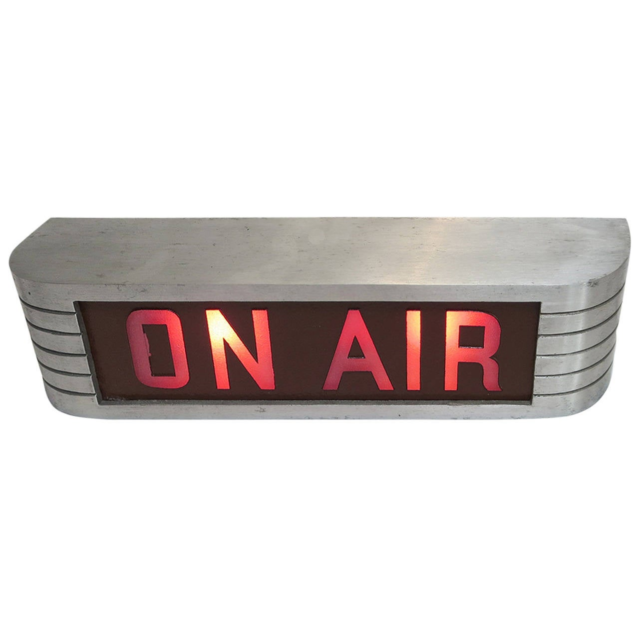 Art deco rca victor on air recording warning light at 1stdibs - Air deco ...