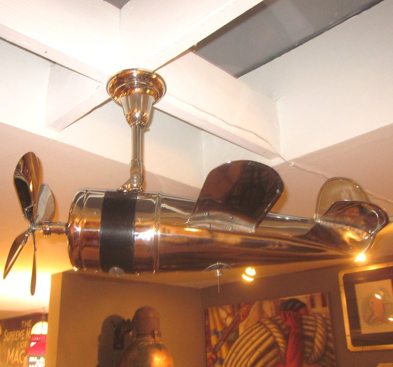 1930 S Art Deco Airplane Ceiling Fan At 1stdibs