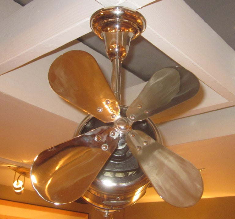 1930 39 s art deco airplane ceiling fan at 1stdibs for Modern decorative objects