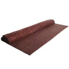 Polished Hardwood Woven Rug