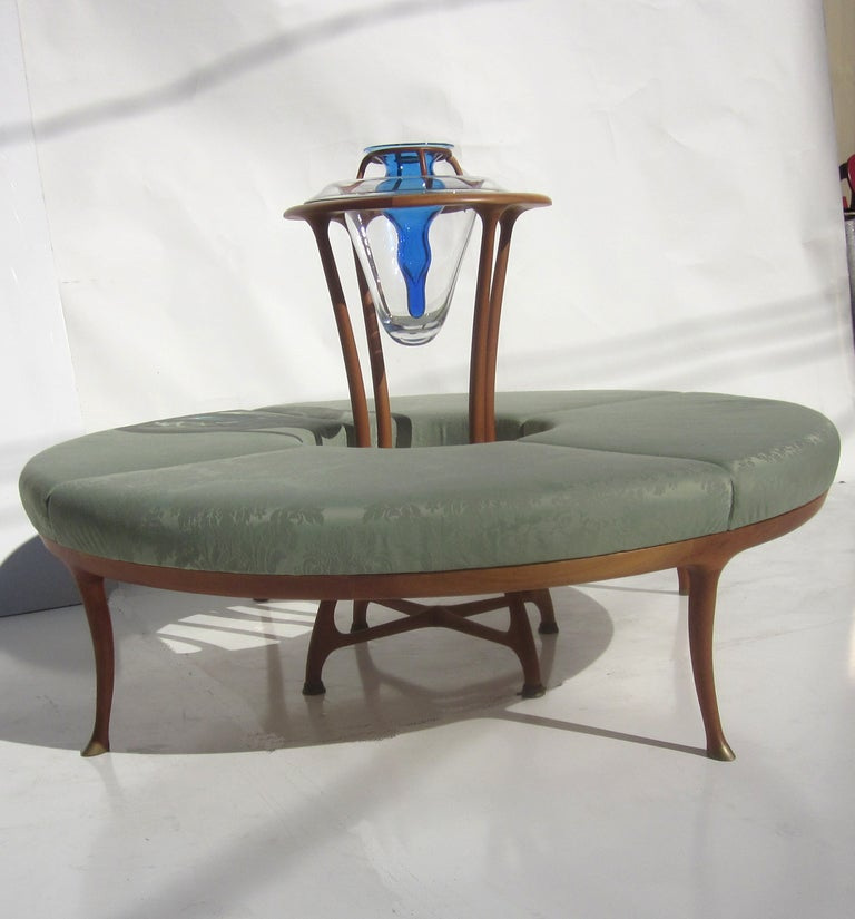 "Large Circular Sectional Sofas: ""Large Flower"" Circular Sofa By Roberto Lazzeroni At 1stdibs"