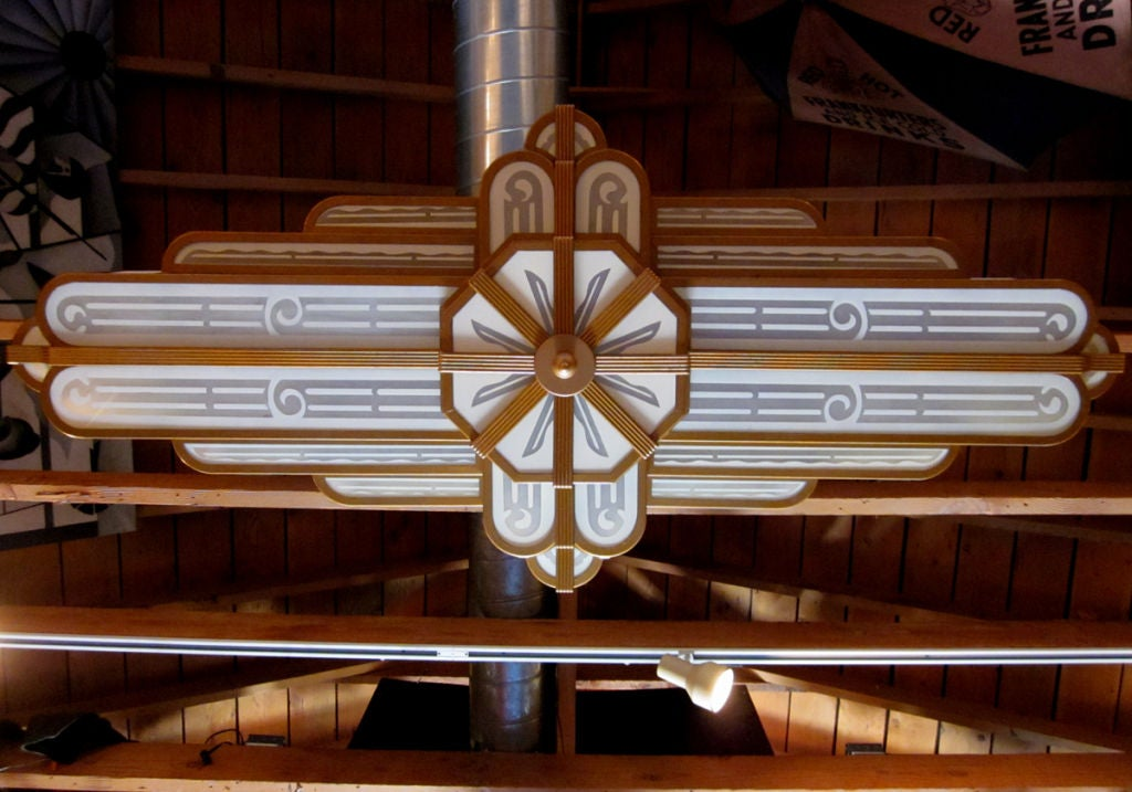 Incredible Art Deco Uptown Theater Chandelier At 1stdibs