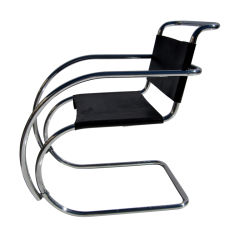 Early MR Armchair by Ludwig Mies van der Rohe