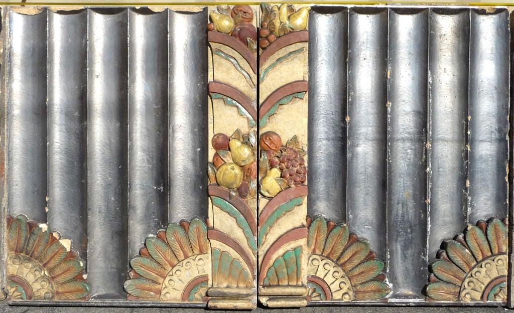 Monumental Art Deco Glazed Terracotta Wall At 1stdibs