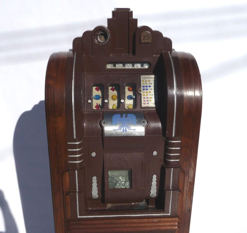 Mills Extraordinary Silent Bell 25 Cent Slot Machine At 1stdibs