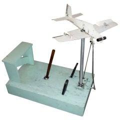 1930's Mechanical Flight Simulator