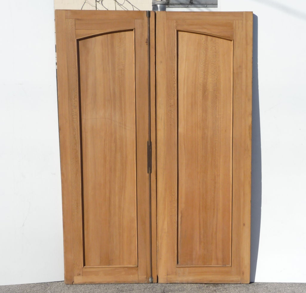 Large french art deco carved doors for sale at 1stdibs for Oversized exterior doors for sale