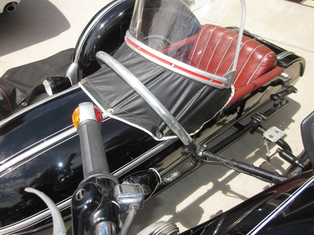 1958 BMW Motorcycle with Steib Sidecar 3