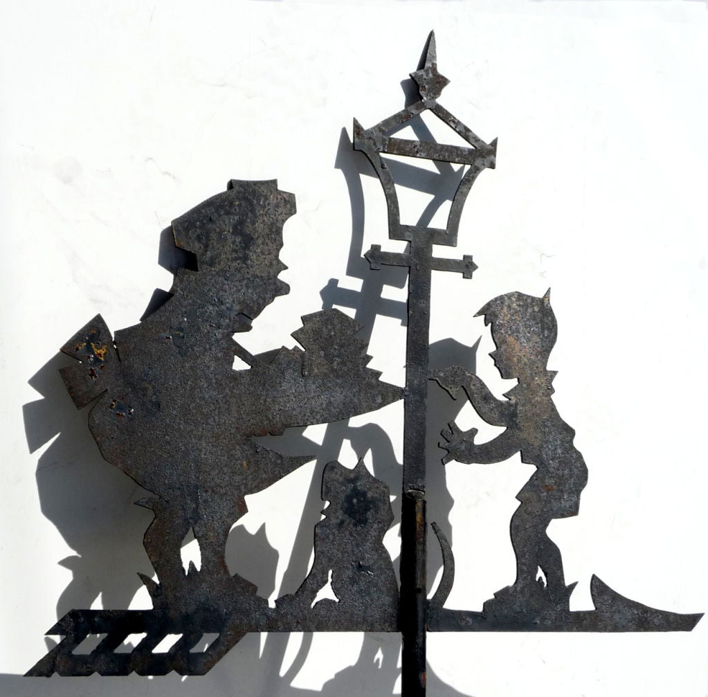 "Howard Johnson's ""Simple Simon"" Weathervane 2"