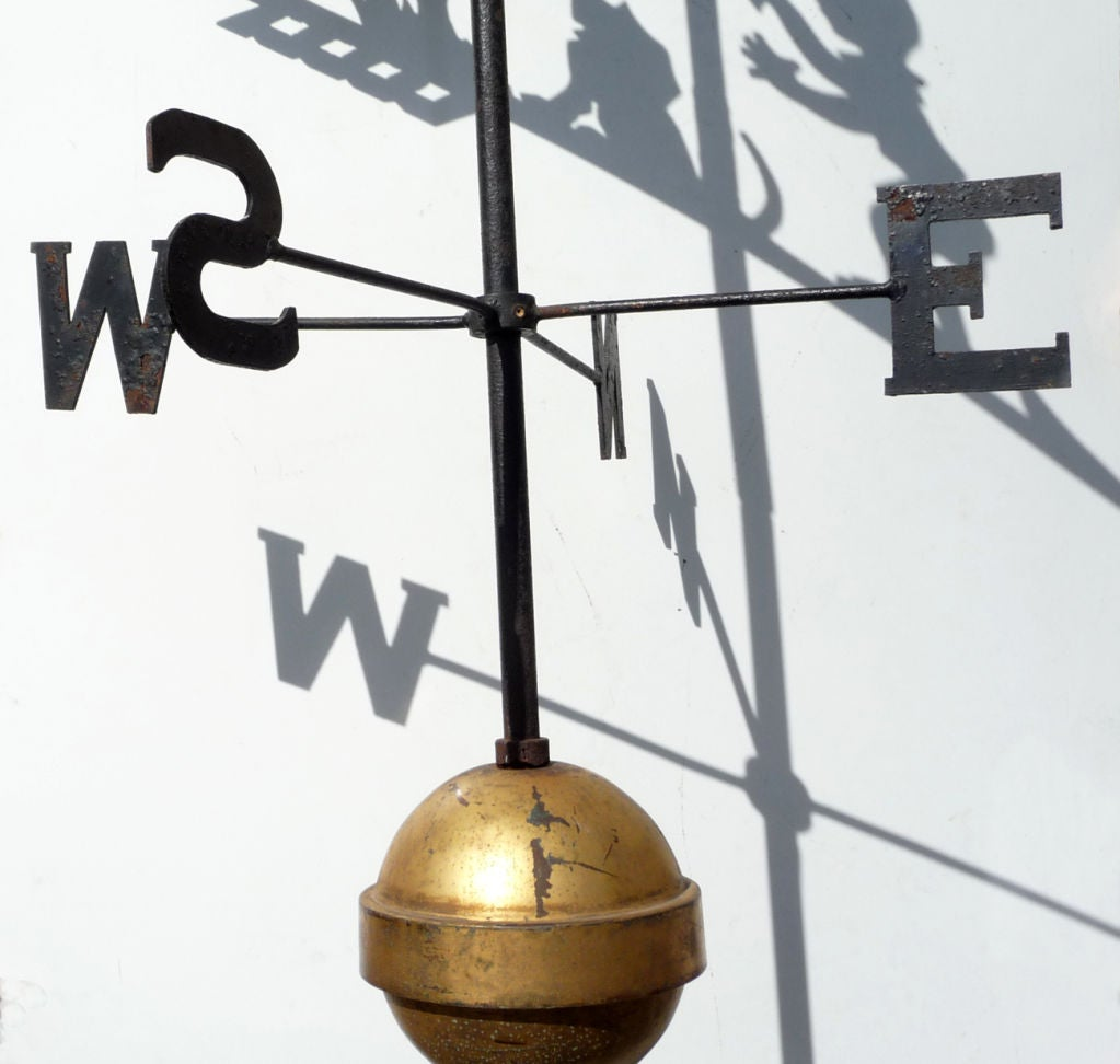 "Howard Johnson's ""Simple Simon"" Weathervane 3"