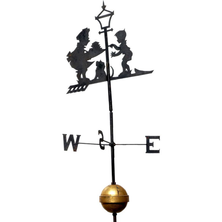 "Howard Johnson's ""Simple Simon"" Weathervane 1"
