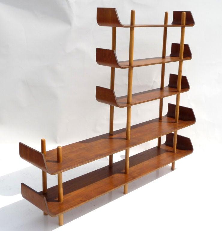 freeform bookcase or room divider by pastoe at 1stdibs. Black Bedroom Furniture Sets. Home Design Ideas
