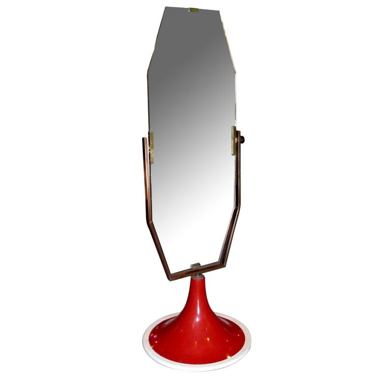 Italian Sixties Standing Mirror For