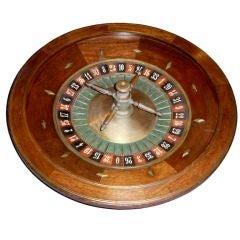 Monte Carlo Casino Roulette Wheel